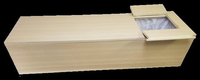 紙製の棺桶