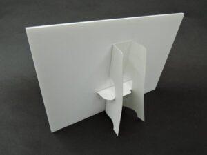 紙製パネルスタンド